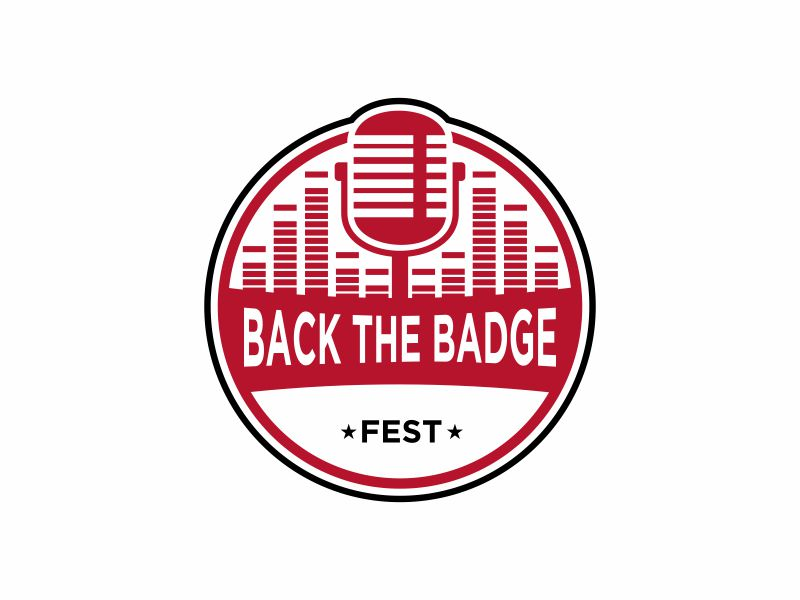 Back the Badge Fest logo design by InitialD