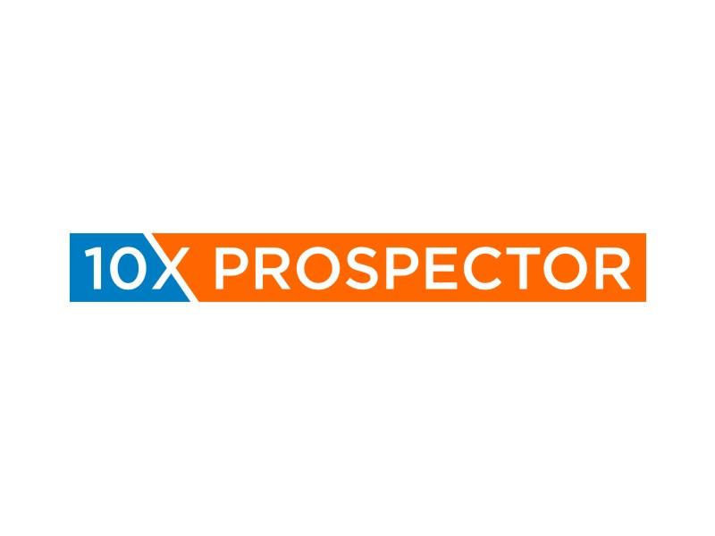 10X Prospector logo design by rief