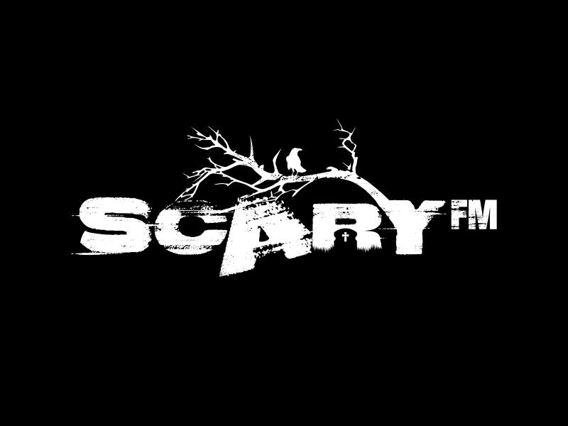 Scary FM logo design by ekitessar