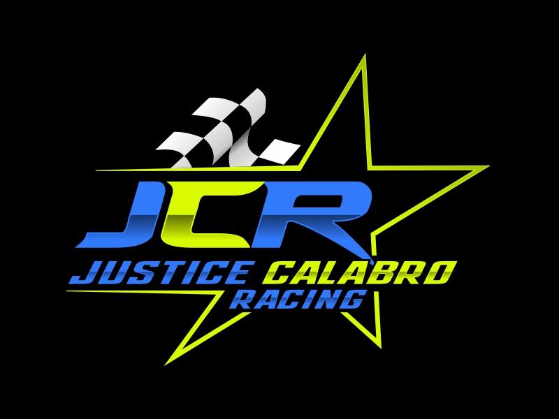 J C R Justice Calabro Racing logo design by rizuki