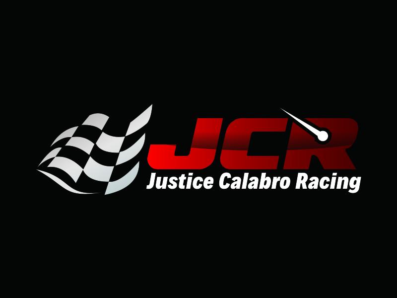 J C R Justice Calabro Racing logo design by Greenlight