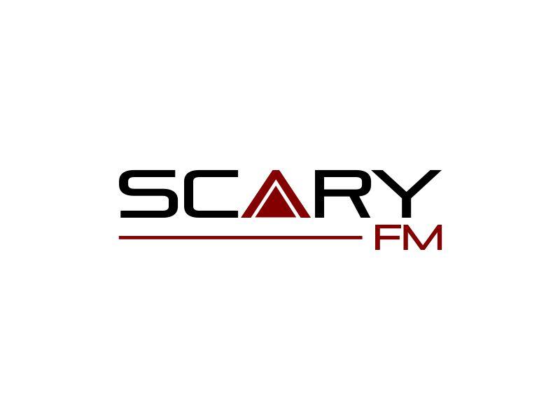 Scary FM logo design by MUNAROH