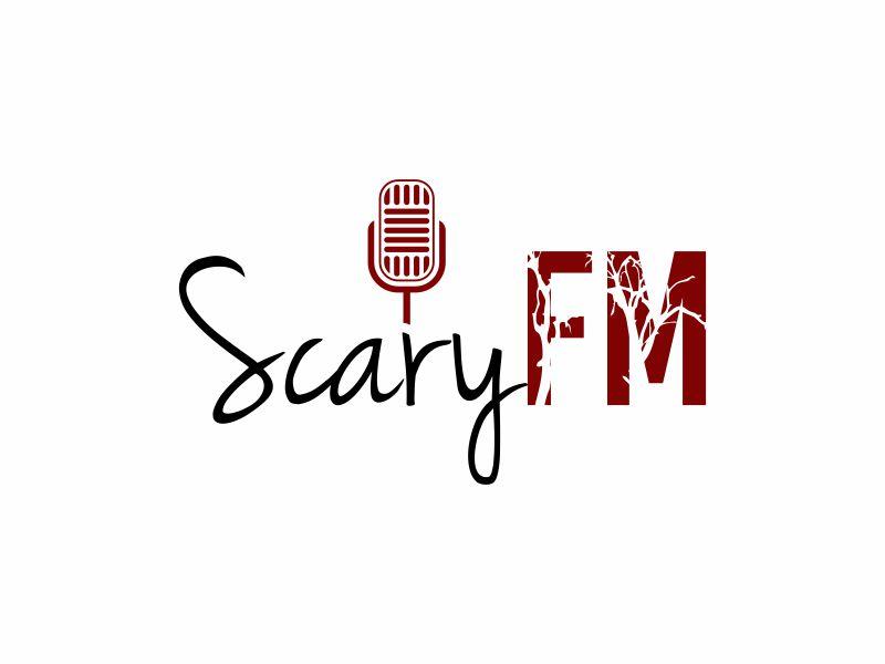 Scary FM logo design by zonpipo1