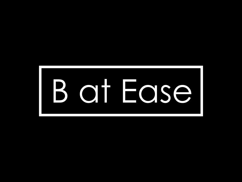 B at Ease logo design by GassPoll