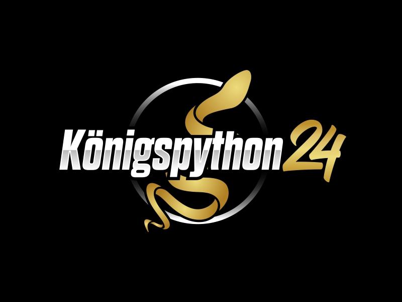 Königspython24 logo design by ekitessar