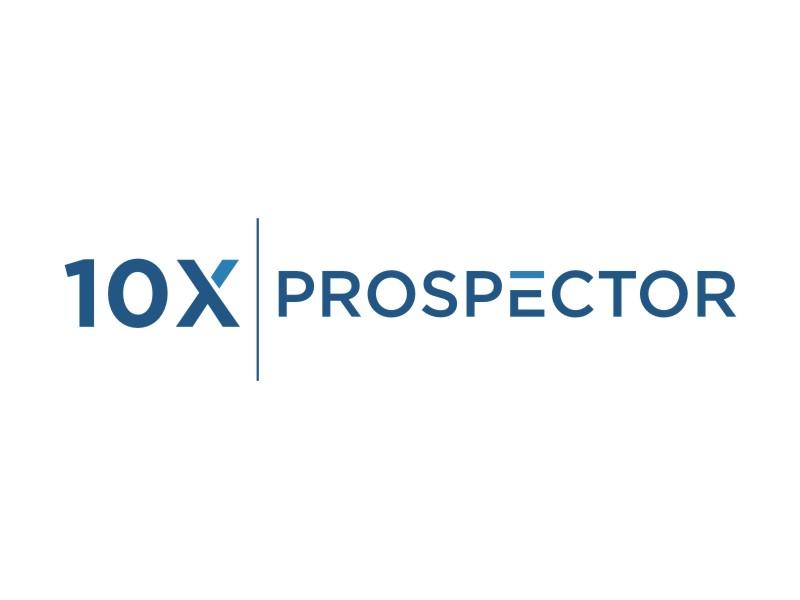 10X Prospector logo design by sheila valencia