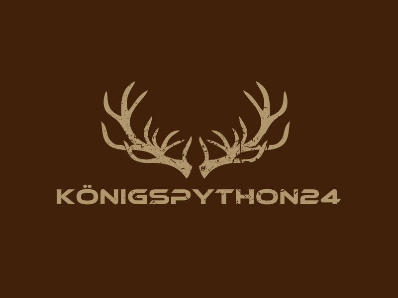 Königspython24 logo design by Greenlight
