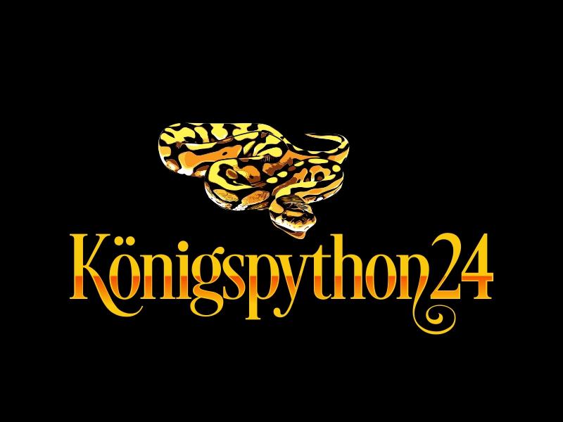 Königspython24 logo design by AnandArts