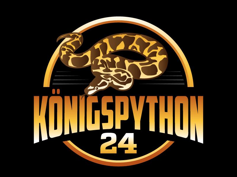 Königspython24 logo design by jaize