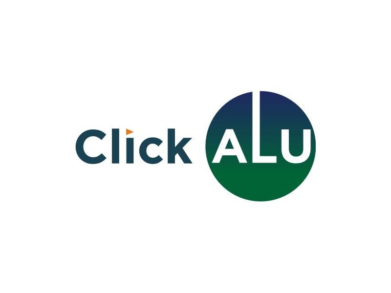 Click Alu logo design by cintya