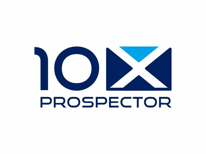 10X Prospector logo design by hidro