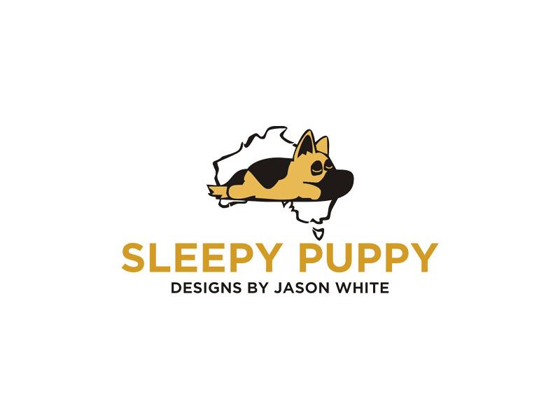 Sleepy Puppy Designs By Jason White logo design by Rizqy