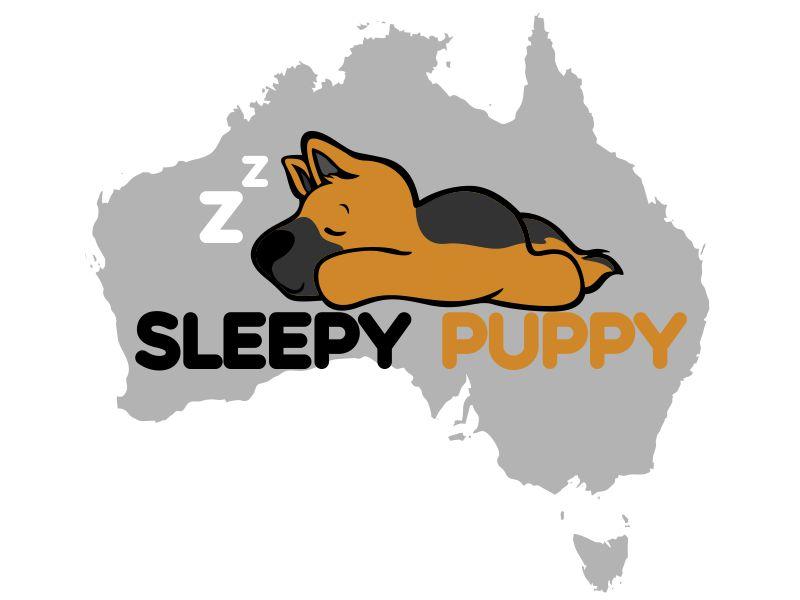 Sleepy Puppy Designs By Jason White logo design by veron