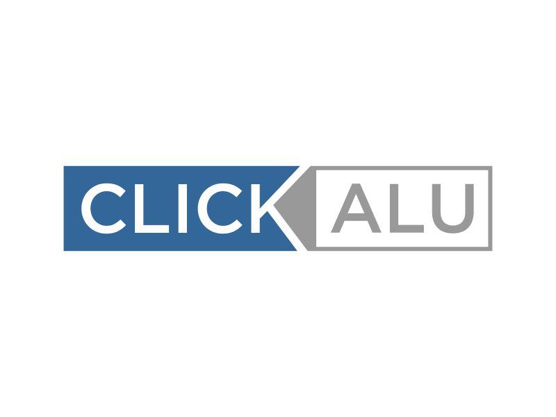 Click Alu logo design by mukleyRx