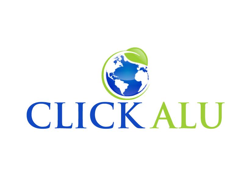 Click Alu logo design by ElonStark