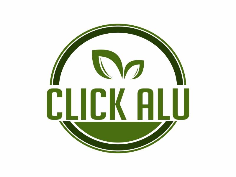 Click Alu logo design by Greenlight