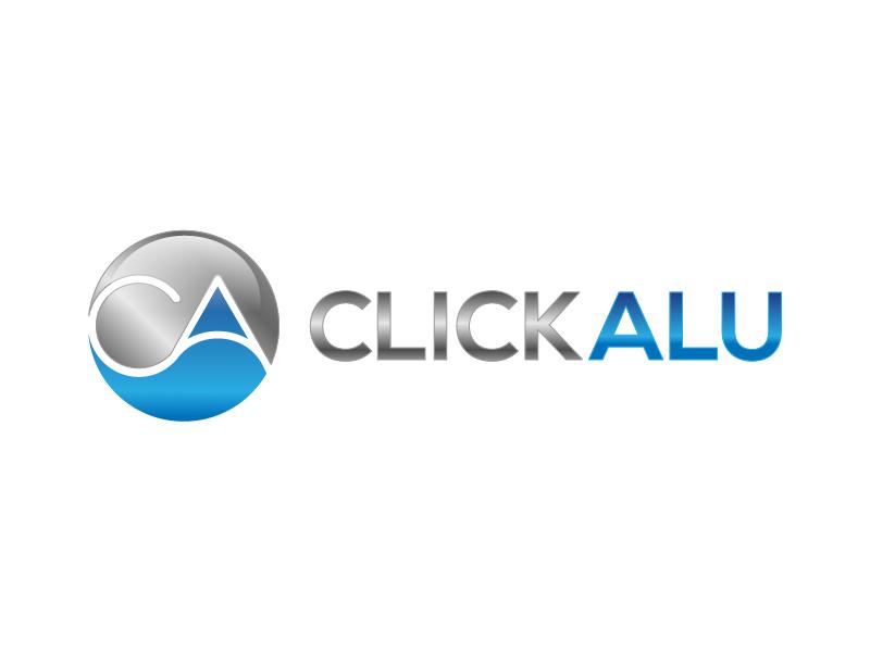 Click Alu logo design by art84
