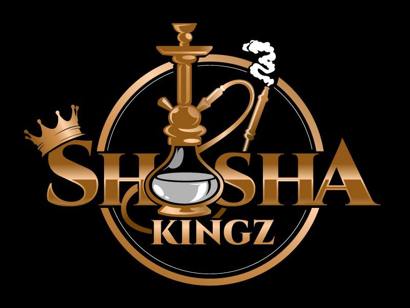 SHISHA KINGZ logo design by usashi