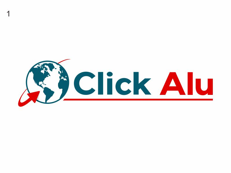 Click Alu logo design by agus