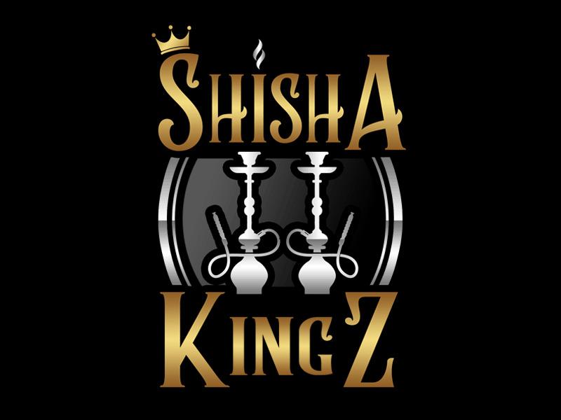 SHISHA KINGZ logo design by Bananalicious