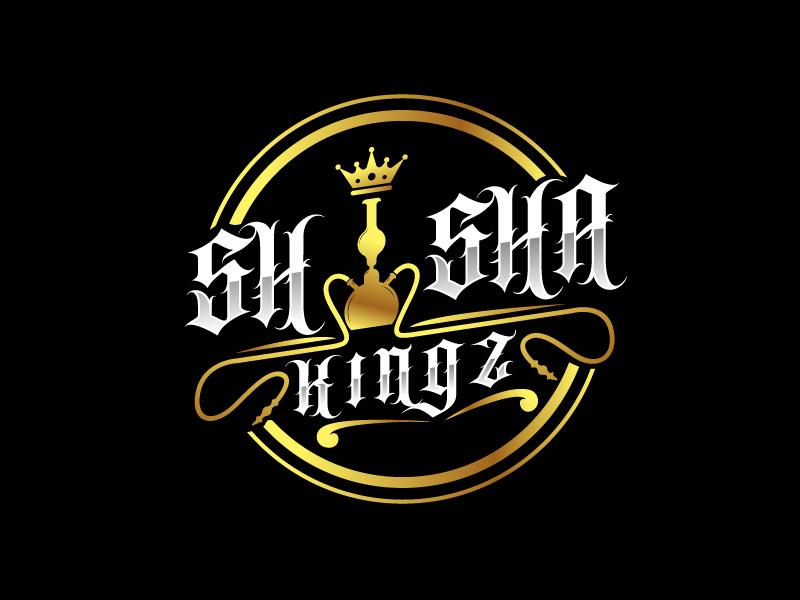 SHISHA KINGZ logo design by Bl_lue