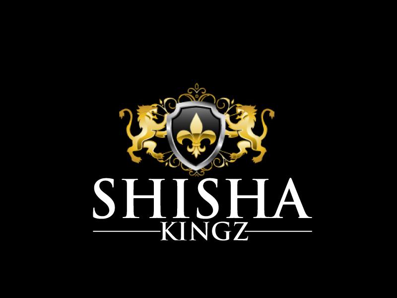 SHISHA KINGZ logo design by ElonStark