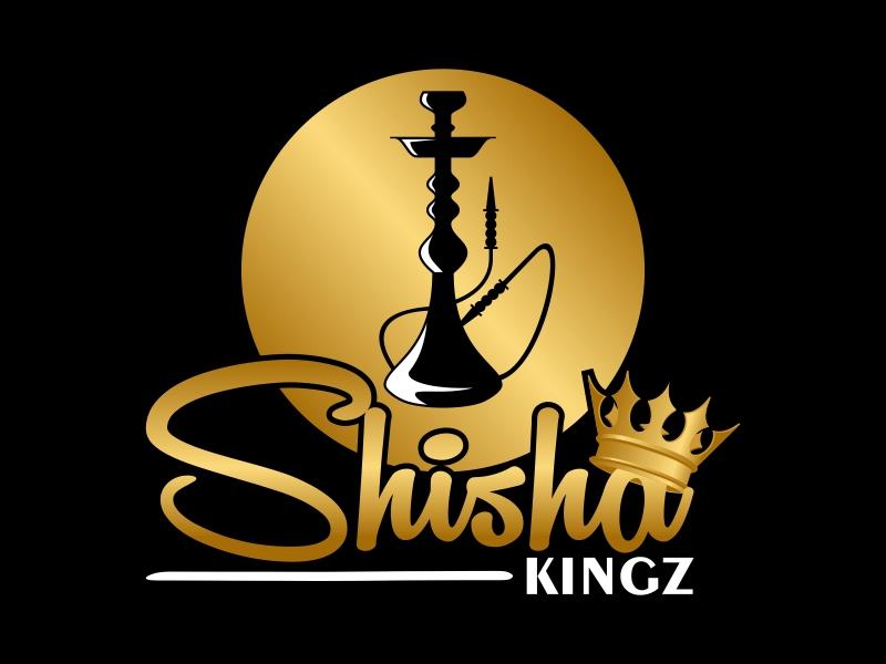 SHISHA KINGZ logo design by Kruger