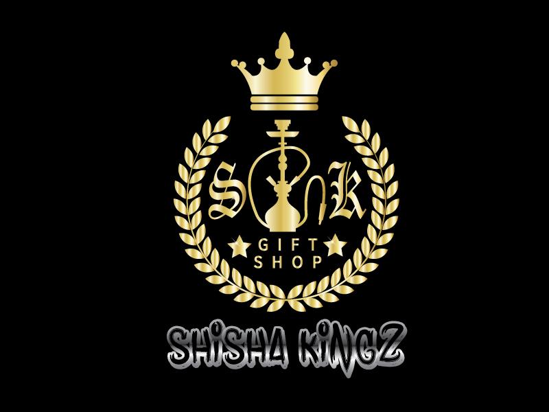 SHISHA KINGZ logo design by HAFBdesign