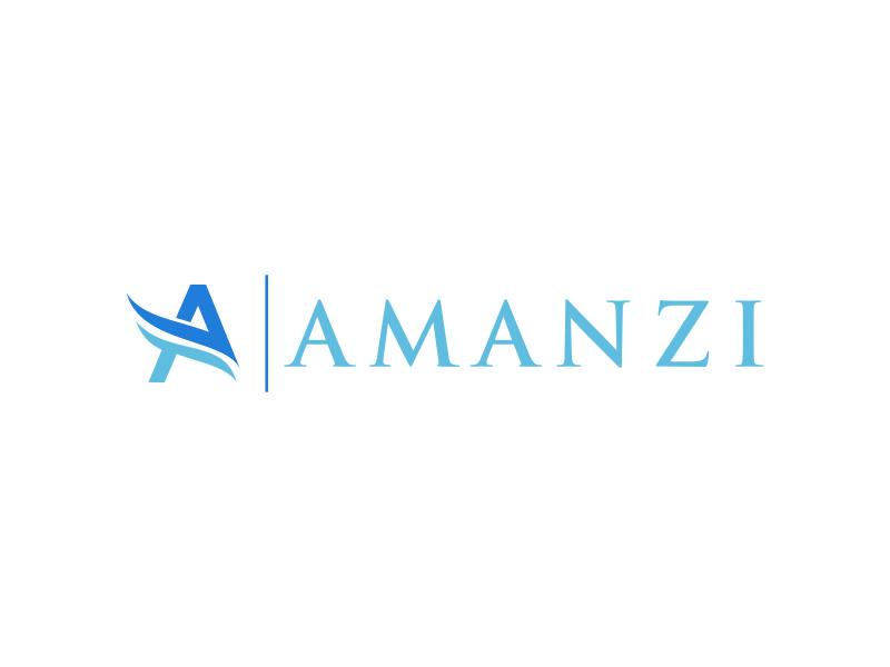 Amanzi logo design by kaylee