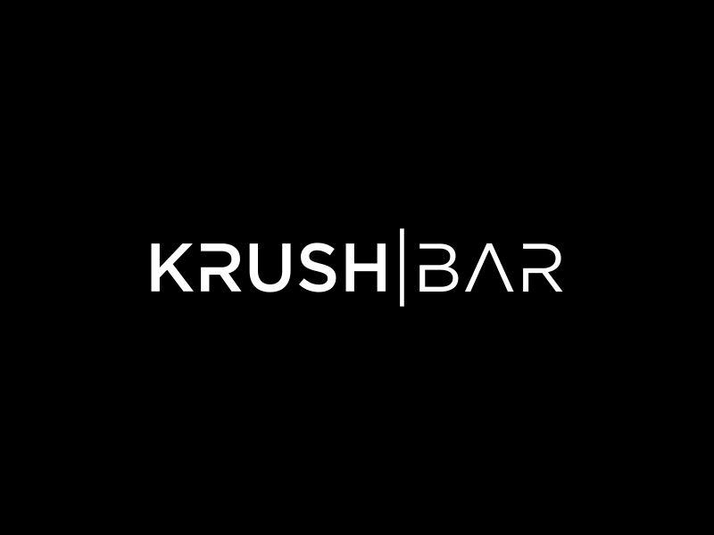 Crush Bar Logo Design