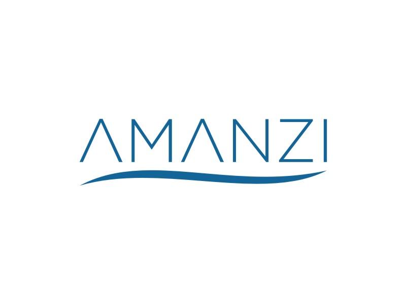 Amanzi logo design by kurnia