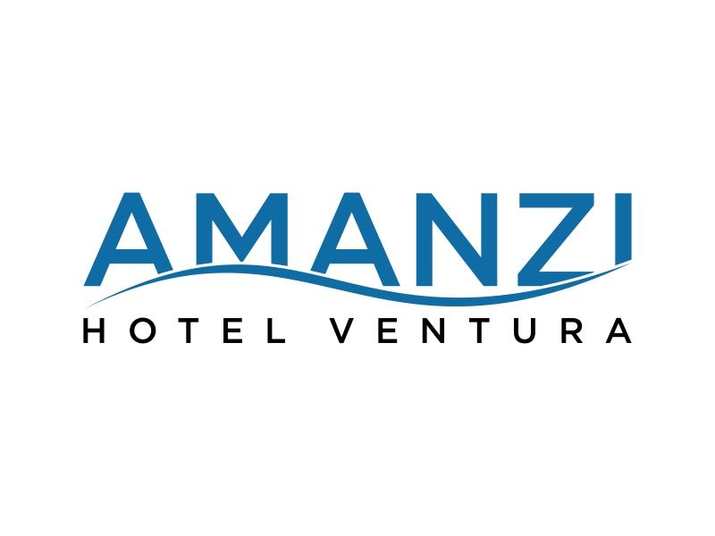 Amanzi logo design by Purwoko21