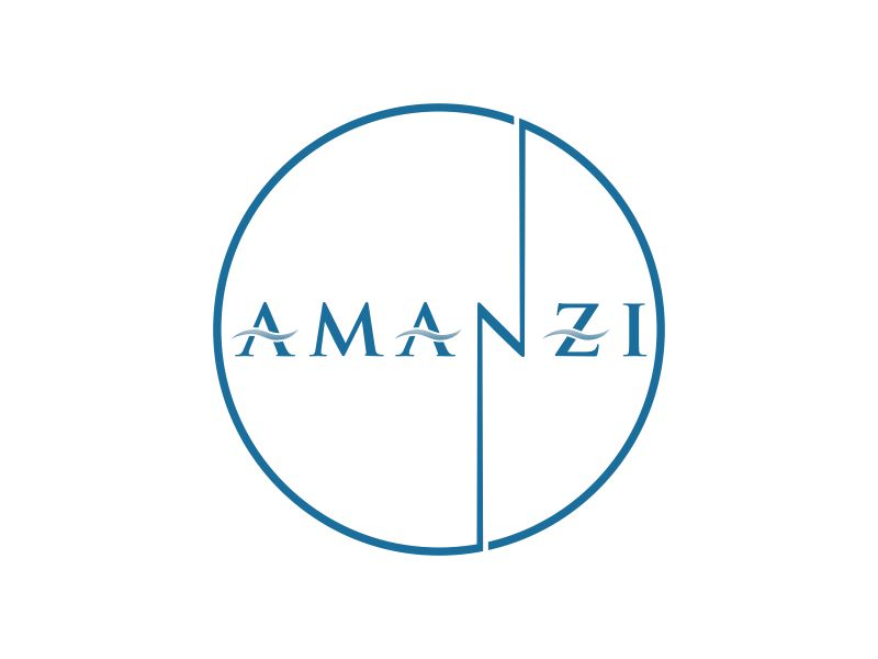 Amanzi logo design by oke2angconcept