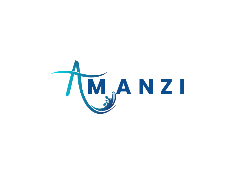 Amanzi logo design by drifelm