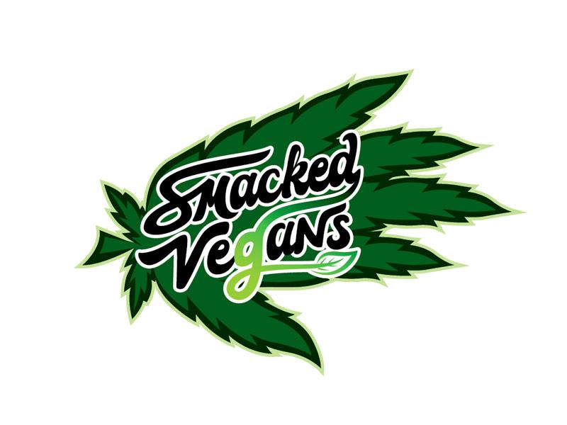 Smacked Vegans Logo Design