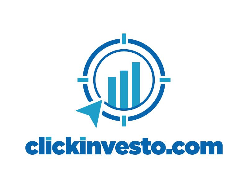 clickinvesto.com logo design by jonggol