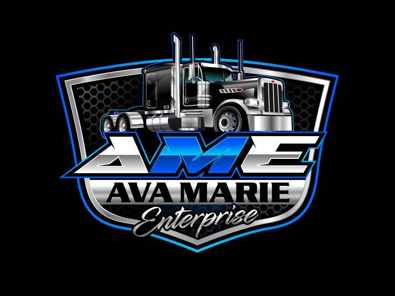Ava Marie Enterprise logo design by axel182