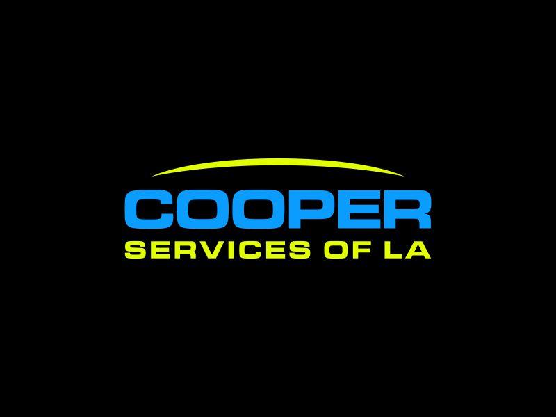 COOPER SERVICES OF LA logo design by Gopil
