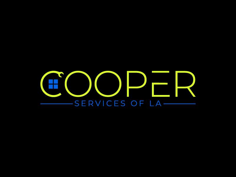 COOPER SERVICES OF LA logo design by yondi