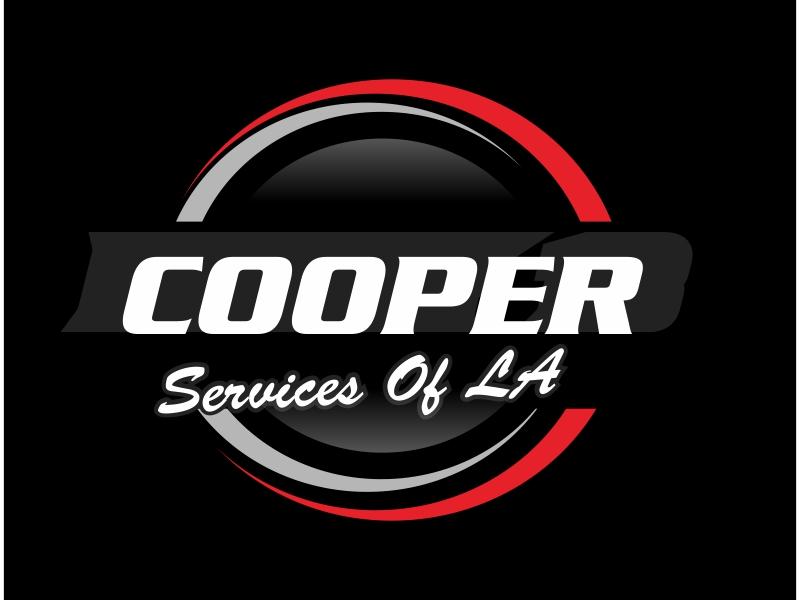 COOPER SERVICES OF LA logo design by Greenlight