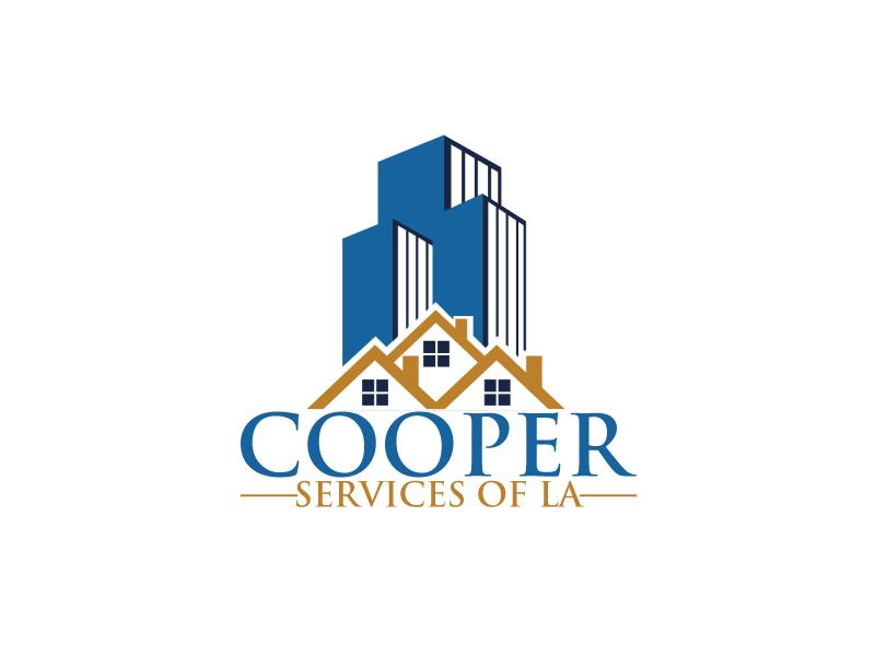 COOPER SERVICES OF LA logo design by ElonStark
