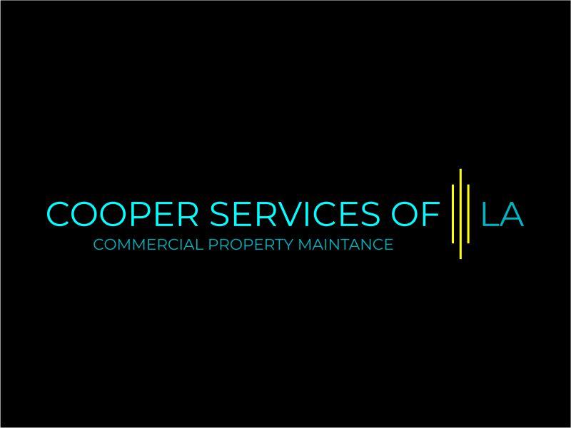 COOPER SERVICES OF LA logo design by meliodas