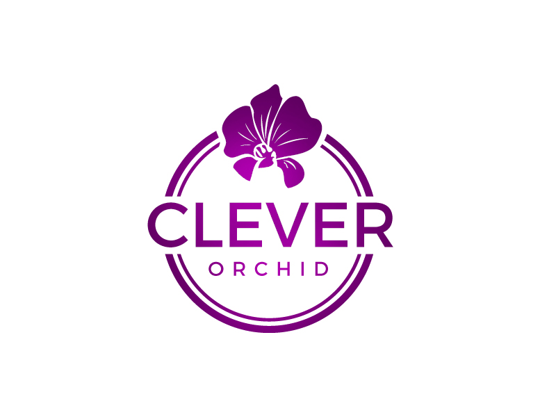 Clever Orchid logo design by samueljho