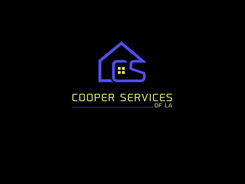COOPER SERVICES OF LA logo design by ARTSHREE