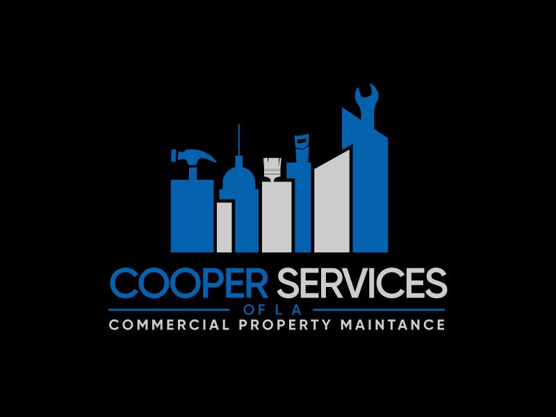 COOPER SERVICES OF LA logo design by Erasedink