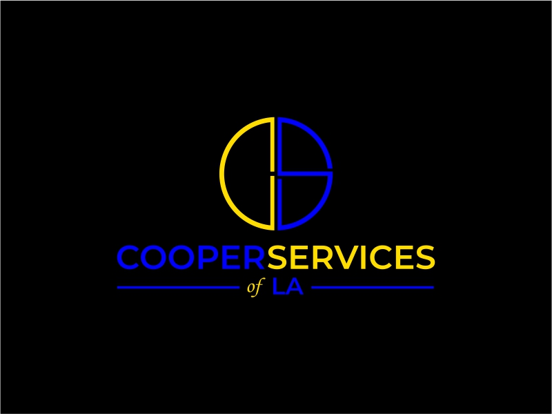 COOPER SERVICES OF LA logo design by mutafailan