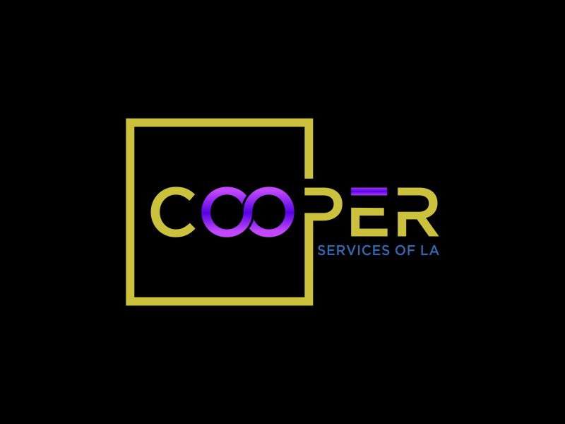 COOPER SERVICES OF LA logo design by oke2angconcept