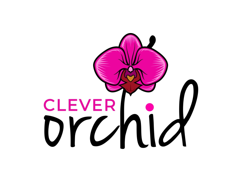 Clever Orchid logo design by mutafailan