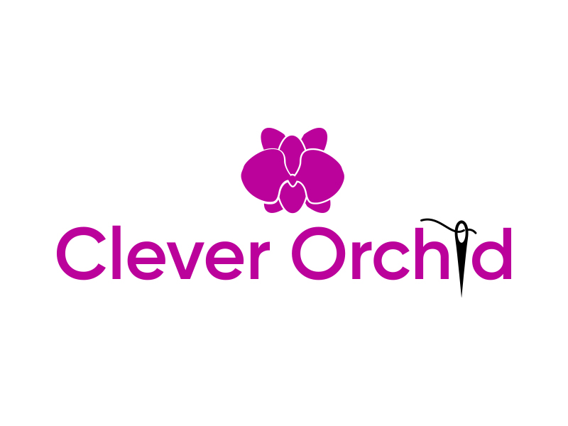 Clever Orchid logo design by keylogo