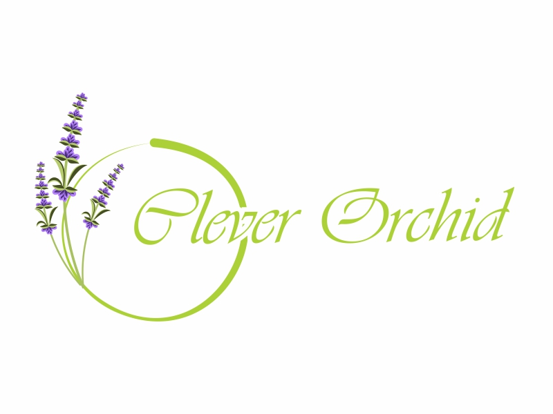 Clever Orchid logo design by Greenlight